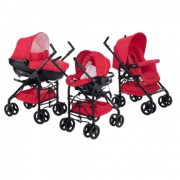 CHICCO 3u1 kolica za bebe Trio Sprint Red Passion (Crvena)