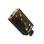 Externá USB zvuková karta Virtual 7.1CH