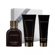 Dolce & Gabbana Intenso Set Edp 125 Ml + After Shave Balm 100 Ml + Shower Gel 50 Ml (0730870156612)