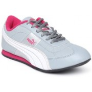 Puma Sports Shoes For Women(Grey, Pink)