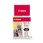 CANON BCI-21BK Black Inkjet Cartridge (BEF47-0821500)