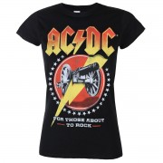 tricou stil metal femei AC-DC - For those about to rock - LOW FREQUENCY - ACGS0906