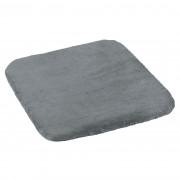 Pernă de scaun Korall micro gri, 40 x 40 cm