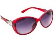 Creative India Exports Oval Sunglasses(Black)