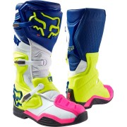 Fox Comp 8 Botas de Motocross 2016 Blanco Azul 50