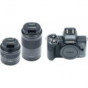Canon EOS M50 Wide Zoom Kit- Black