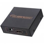 2 portuario del interruptor HDMI del divisor del (Negro)