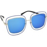 Redleaf Over-sized Sunglasses(Blue)