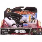 Комплект дракон и ездач - Dragons - 3 налични модела - Spin master, 872020