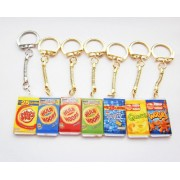 Kitsch Crisp Packet Junk Food Jewellery Variety Keyring