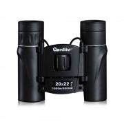 Sonstige Marke Qanliiy - BAK-4 Binokular Mini Fernglas Objektiv mit Halsschlaufe (20x22) - Schwarz