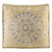 Woonkussen Amira - geel - 45x45 cm - Leen Bakker