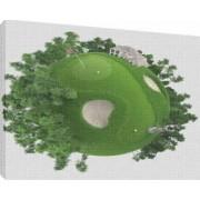 Glob pamantesc 1 - Tablou canvas - 70x100 cm