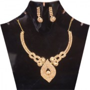 jinagam Jewel Traditional Necklace With Gold plated Kundan Set For Women And Girls