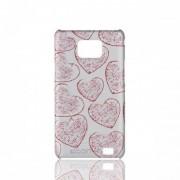 Husa Samsung Galaxy SII - C'est L'amour RED