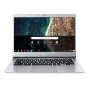 Acer Chromebook 14 - 14''/N4200/4G/64GB/Chrome strieborný