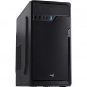 Carcasa PGS CS-100 Advance Black, MiniTower, Fara sursa, Negru