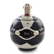 Vas pentru depozitarea ceaiului din ceramica