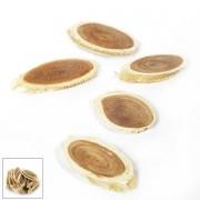 Houtschijfjes ovaal250 gram