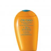 Shiseido protective tanning emulsion spf 10 for face body emulsione protettiva abbronzante viso corpo 150 ml
