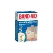 Curativo Adesivo Transparente Band Aid Caixa com 40 Unidades