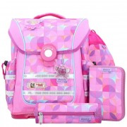 McNeill ERGO Light Pure zaino scuola con accessorio set di 4pz. 40cm