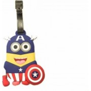 Funcart Captain America Luggage Tag(Multicolor)