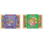 Melissa & Doug Bead Set Bundle Contains Flower Power And Butterfly Friends