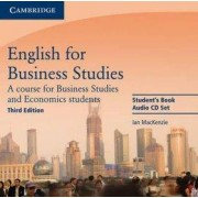 Cambridge English for Business Studies Audio CDs (2) - I. MACKENZIE