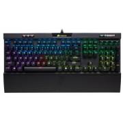 Tastatura Cu Fir Corsair K70 MK.2 Mechanical Gaming- Cherry MX Red, NA, Iluminata, Led Multicolor Neagra