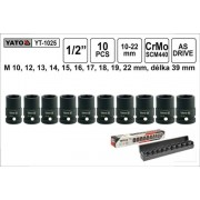"""Yato Dugókulcs Készlet 1/2"""" Gépi, 10-22mm ,10db-os (YT-1025)"""