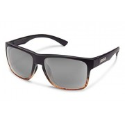 Suncloud Rambler Sunglasses, Black Tortoise Fade Frame/Gray Polycarbonate Lens, One Size