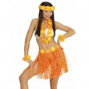 Geen Oranje Hawaii verkleedset voor dames