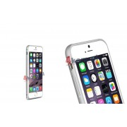 Bumper Love Mei do iPhone 6 - Srebrny