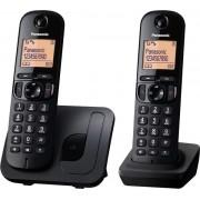 Telefon Fix Twin Panasonic KX-TGC212FXB (Negru)