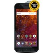 "Telefon Mobil Caterpillar CAT S61, Procesor Octa-Core 2.2GHz, Super Bright 5.2"", 4GB RAM, 64GB Flash, 16MP, Wi-Fi, 4G, Dual SIM, Android, Rezistent la apa si praf + Capac protectie spate Caterpillar Hybrid Case (Negru) + Cartela SIM Orange PrePay, 6 euro"
