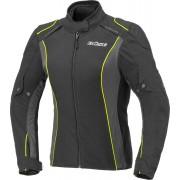 Büse Cara Ladies Motorcycle Textile Jacket Black Yellow 44