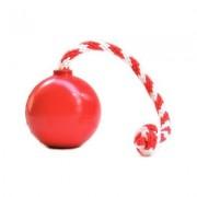 USA-K9 Cherry Bomb Treat Dispensing Tough Dog Chew Toy, Red, Medium
