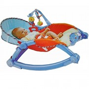 Sunshine Gifting Rocking Chair and Baby Bouncer with Soothing Vibration and Music - Non Toxic