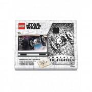 Lego Star Wars Книга для записей с ручкой и минифигурой TIE Fighter