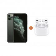 Apple iPhone 11 Pro 256 GB Midnight Green + Apple AirPods Pro met Draadloze Oplaadcase