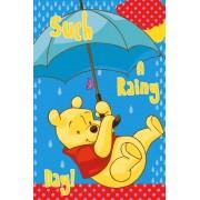 Disney Nalle Puh Handduk 40 x 60 cm Blå