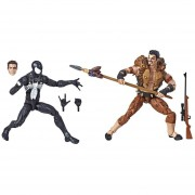 Figuras Hasbro Marvel Legends: Spider Man y Kraven (F)