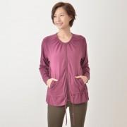 AnyBody ウェストシャーリングジャケット【QVC】40代・50代レディースファッション