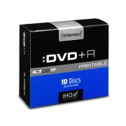 Intenso DVD+R Intenso Slim Case (bedruckbar)