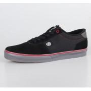 rövidszárú cipő férfi - CIRCA - Black/Dark Gull/Red
