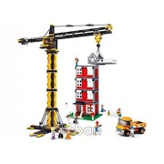 Sluban Crane Tower and Building - 1461 Pieces (Brand New in Original English Box) 100% LEGO Compatible - Educational Toy - Building Bricks Construction Series M38-B0555
