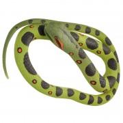 Merkloos Rubberen speelgoed anaconda mega slang 183 cm