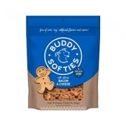 Buddy Biscuits Original Soft & Chewy with Bacon & Cheese Dog Treats, 20-oz bag