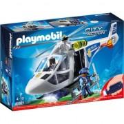 Joc Playmobil Police - Elicopter de Politie cu Led 6921